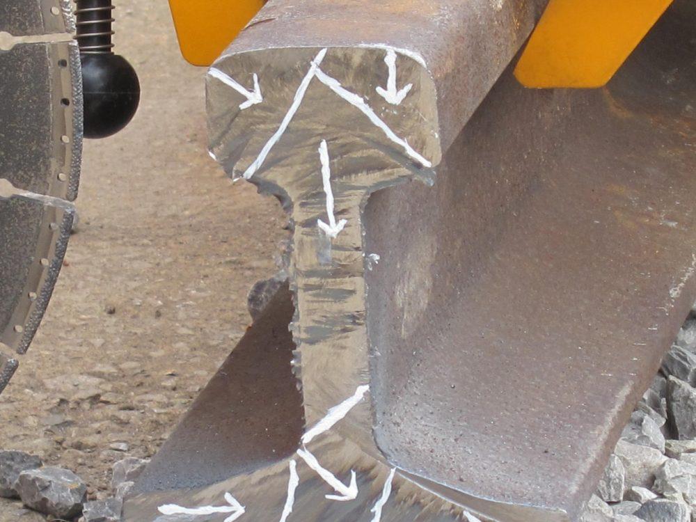 slijpschijf rail diamant