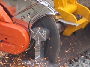 Railsafe cut diamant slijpschijven