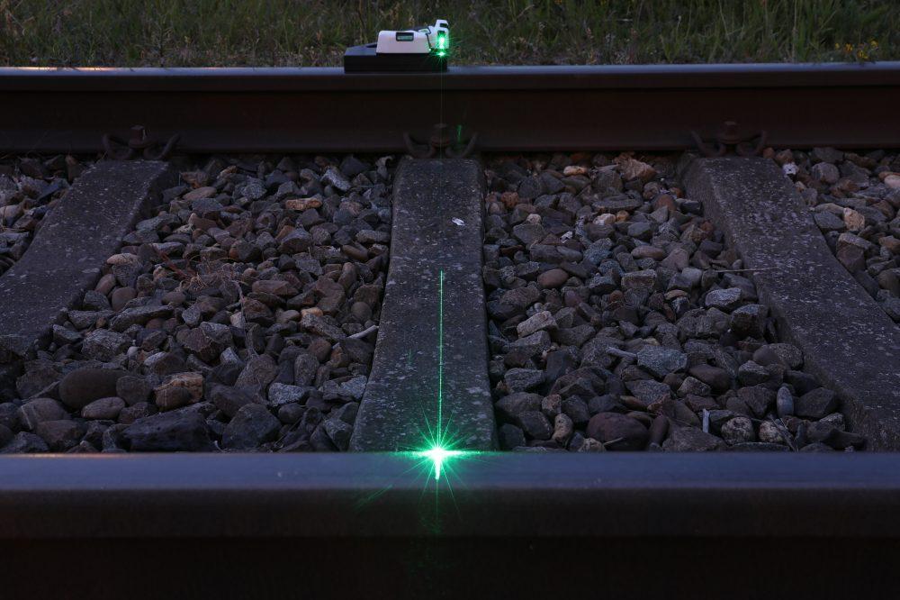 winkelhaak rail laser
