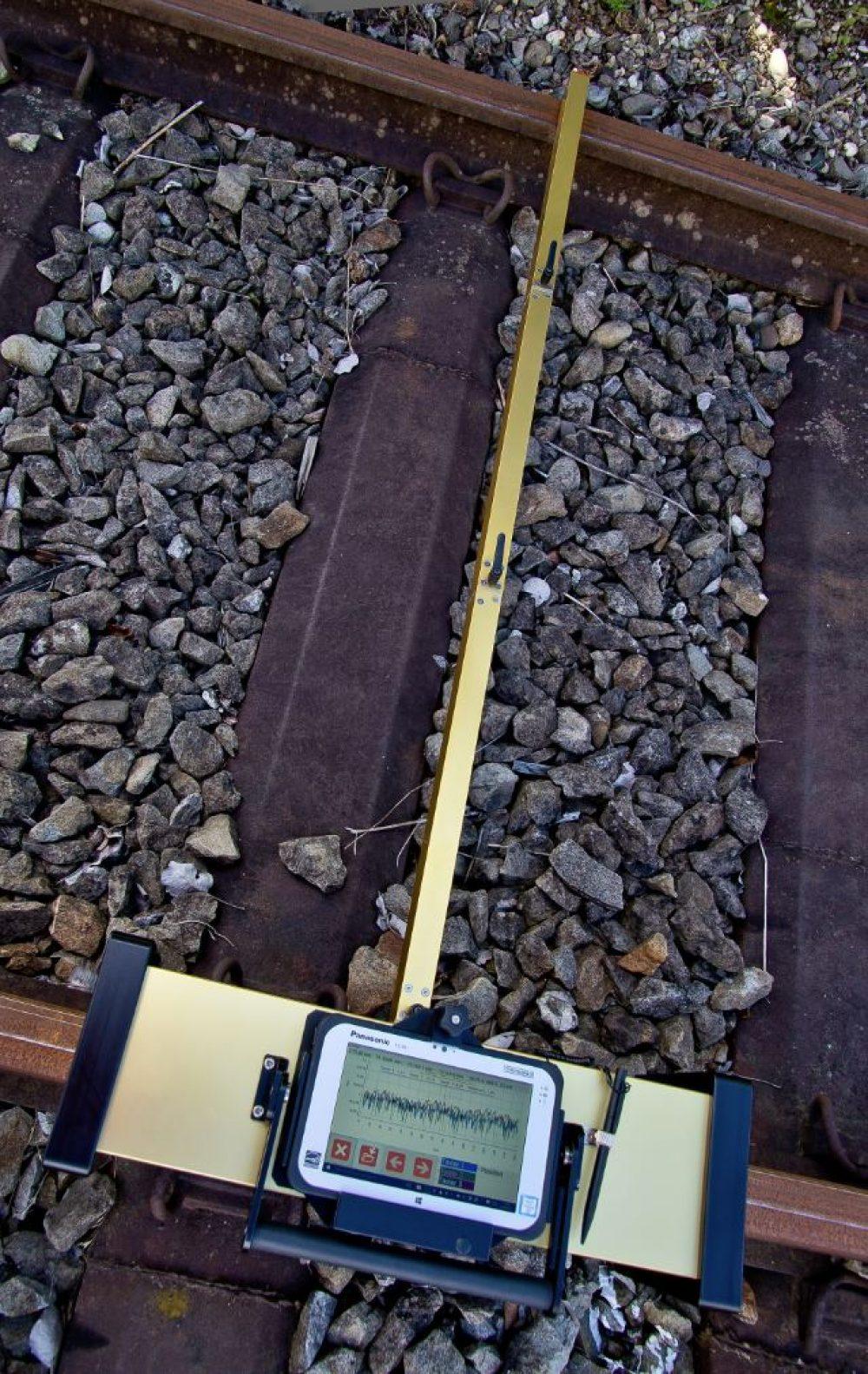 Railoppervlakte meetinstrument