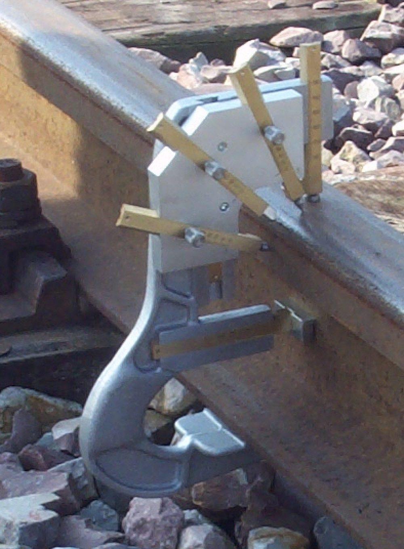 Rail Kopslijtagemeter