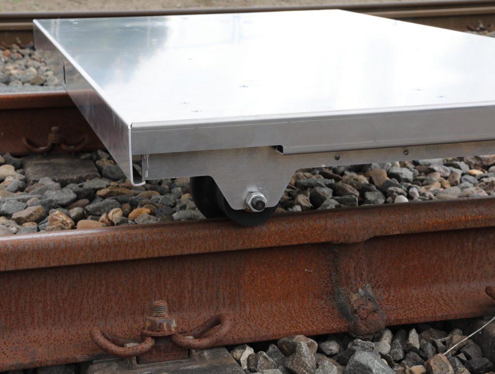 Spoorlorrie aluminium ongeremd