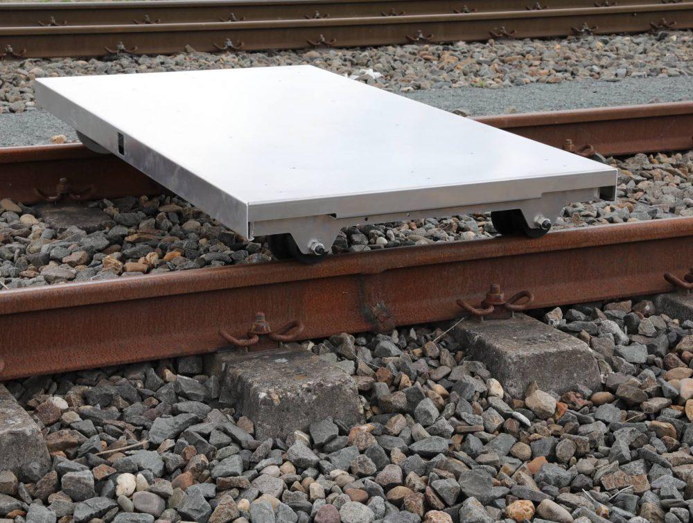 Spoorlorrie aluminium