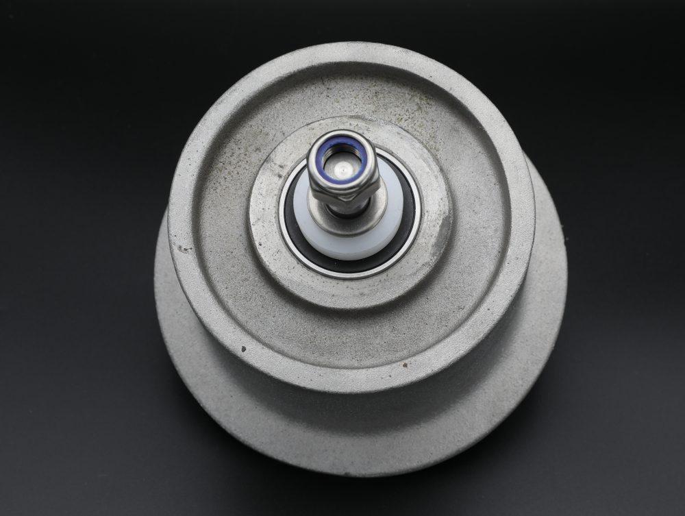 Spoorwiel aluminium